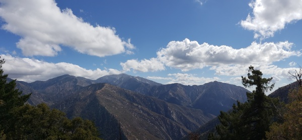 View from the Big Horn Mine Trail