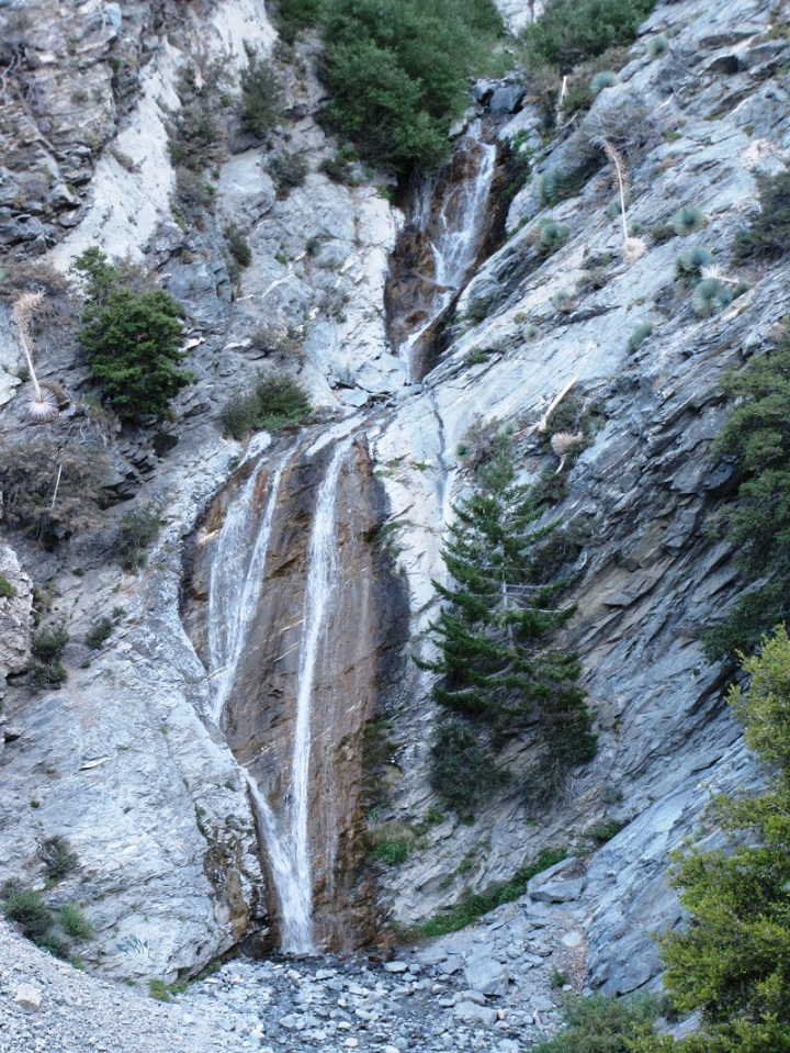 San Antonio Falls, Angeles National Forest