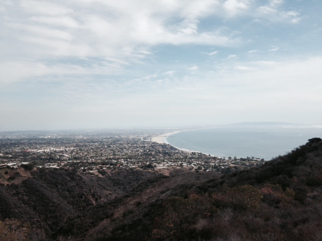 View from near the Topanga Overlook