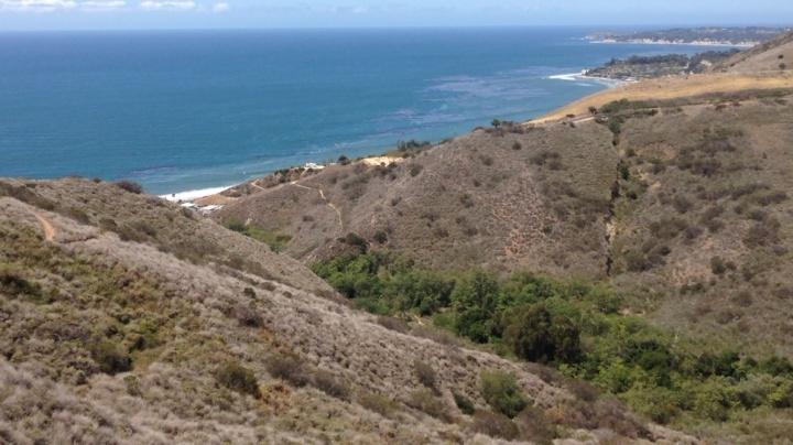 Corral Canyon Loop Trail, Santa Monica Mountains, Malibu, CA