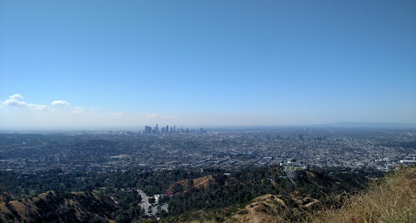 View from Mt. Hollywood, Los Angeles
