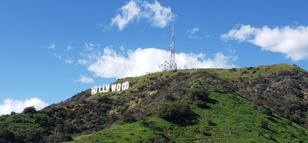 Hollywood Sign, Mt. Lee, Griffith Park, CA