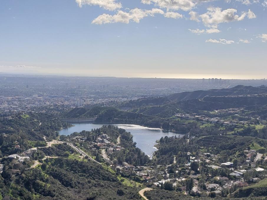 Lake Hollywood Reservoir, Los Angeles, CA