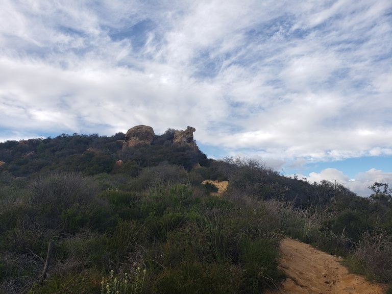 Skull Rock, Santa Monica Mountains, CA