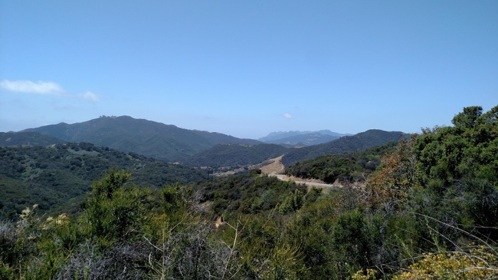Backbone Trail, Santa Monica Mountains, CA