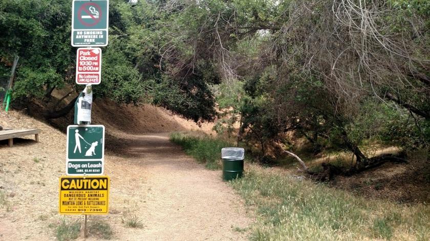 Cadman Trail, Griffith Park