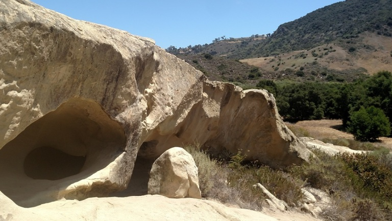 Cave Rock, Aliso & Wood Canyons Wilderness Park, Orange County, CA