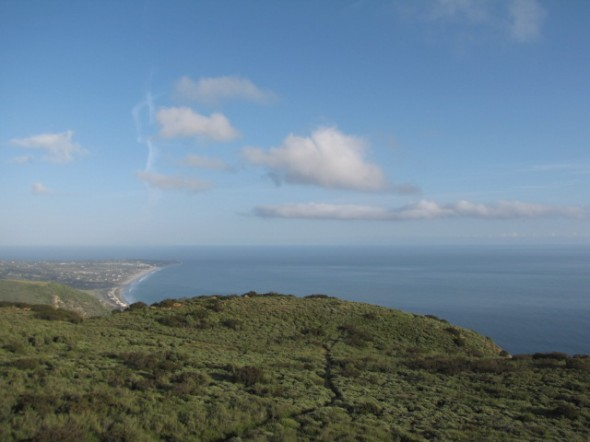 Ocean view from Charmlee Natural Area, Santa Monica Mountains, Malibu, CA