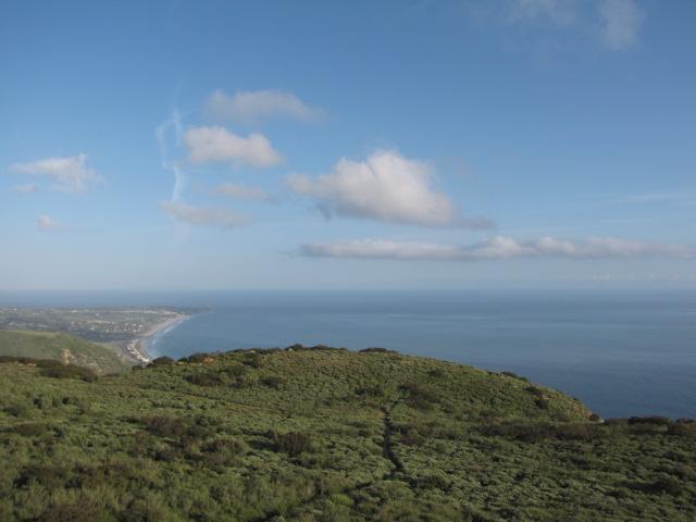 Ocean view from Charmlee Natural Area, Santa Monica Mountains, Malibu, CA