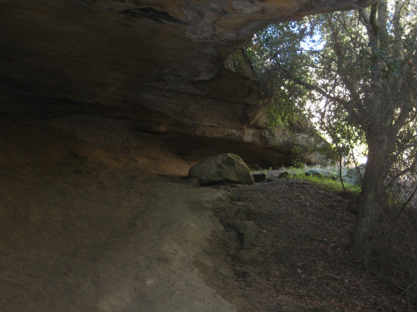 Inside Dripping Cave/Robber's Cave, Aliso & Wood Canyons Wilderness Park