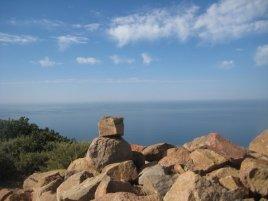 View from the Mugu Peak summit