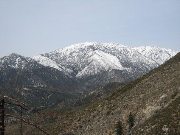 Mt. Baldy from Stoddard Peak