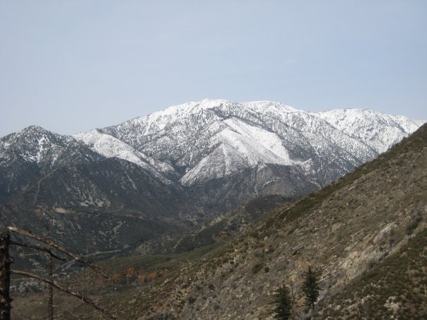 Mt. Baldy from Stoddard Peak