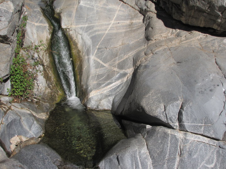 Upper level, Hermit Falls