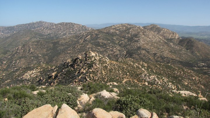 Looking north from Iron Mountain