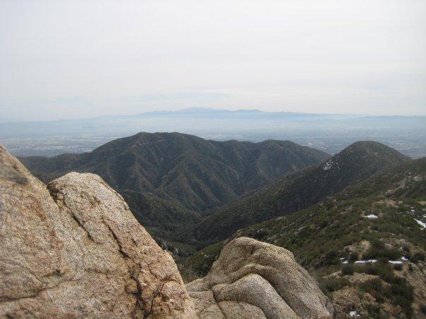 Looking south toward Old Saddleback from Stoddard Peak