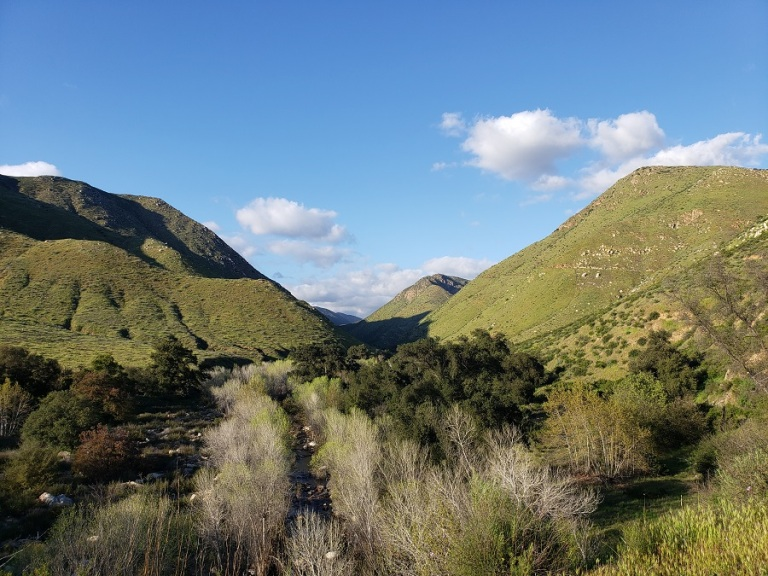 Cedar Creek Trail, San Diego, CA
