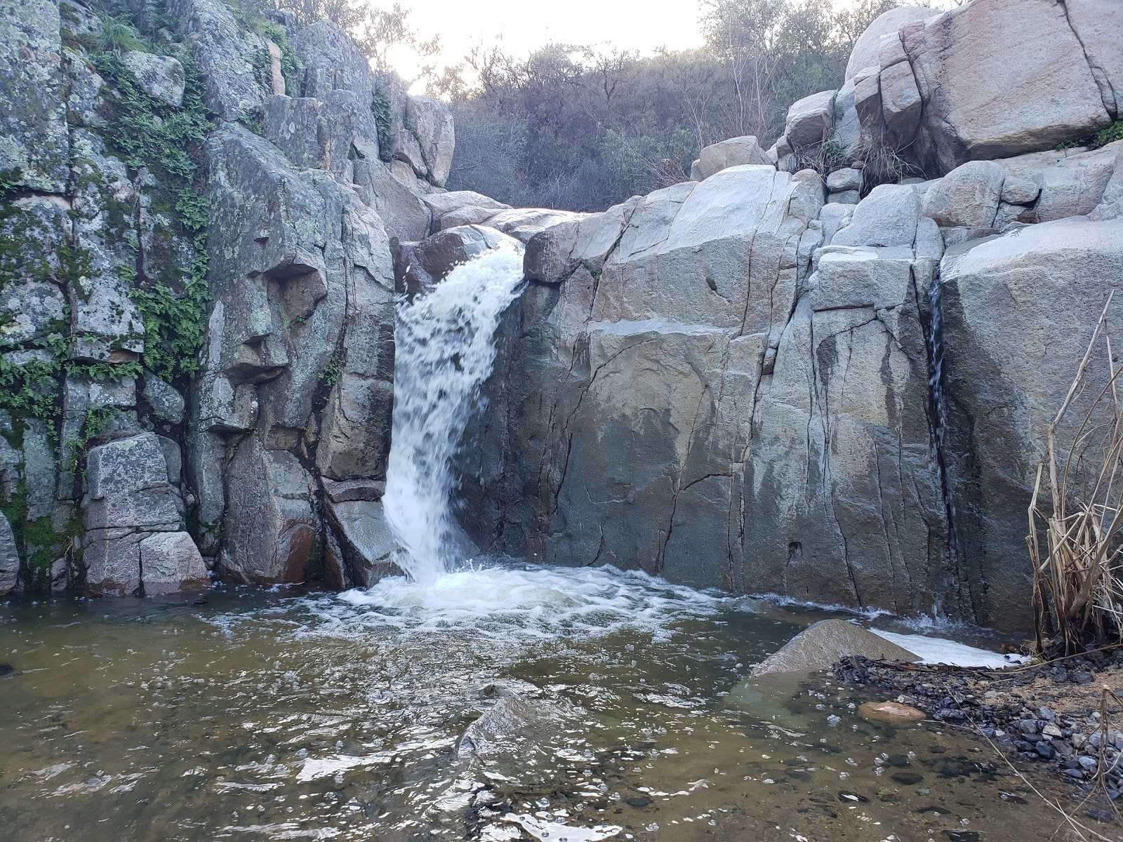 Chiquito Falls, Cleveland National Forest