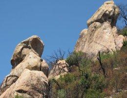 Geology in the foothills of Santa Barbara, CA