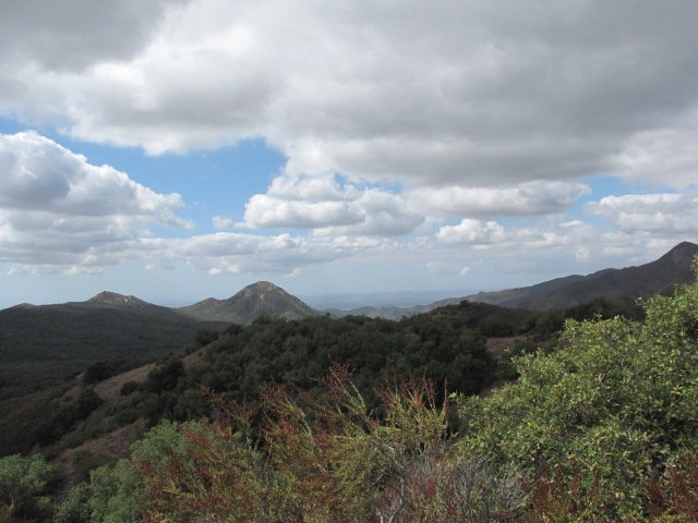 View of Sugarloaf Mountain from the San Juan Trail