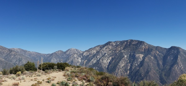 Sunset Peak, Angeles National Forest, CA