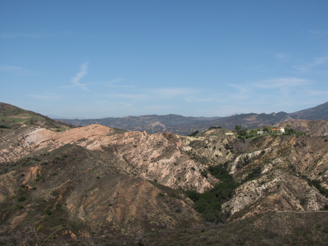 View from Dreaded Hill, Whiting Ranch Wilderness Park, Orange County, CA