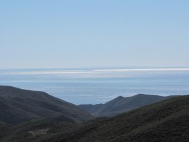 Ocean view from Serrano Valley, Point Mugu State Park