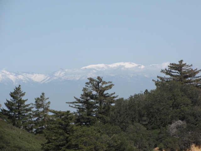 View from Santiago Peak, Orange County, CA