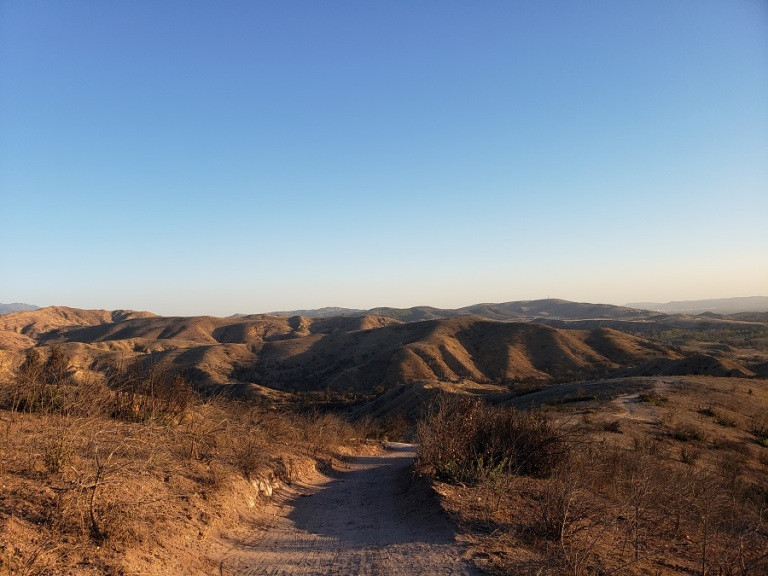 Barham Ridge Trail, Santiago Oaks Regional Park