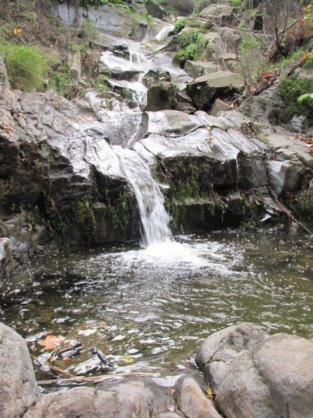 Big Sycamore Canyon Waterfall