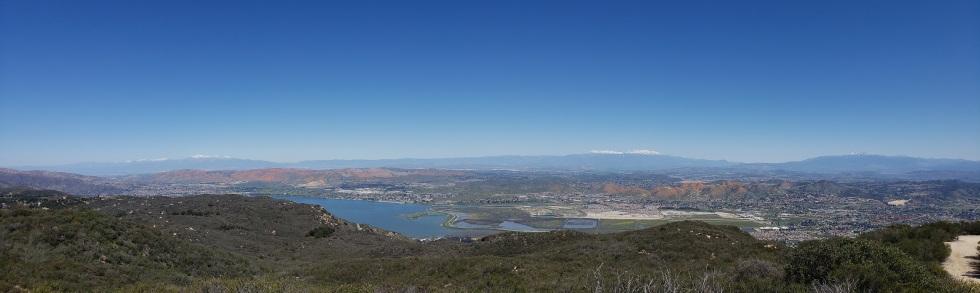 View from Elsinore Peak, CA
