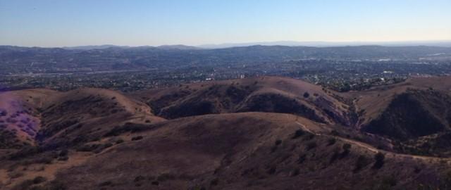 Looking south from Gilman Peak