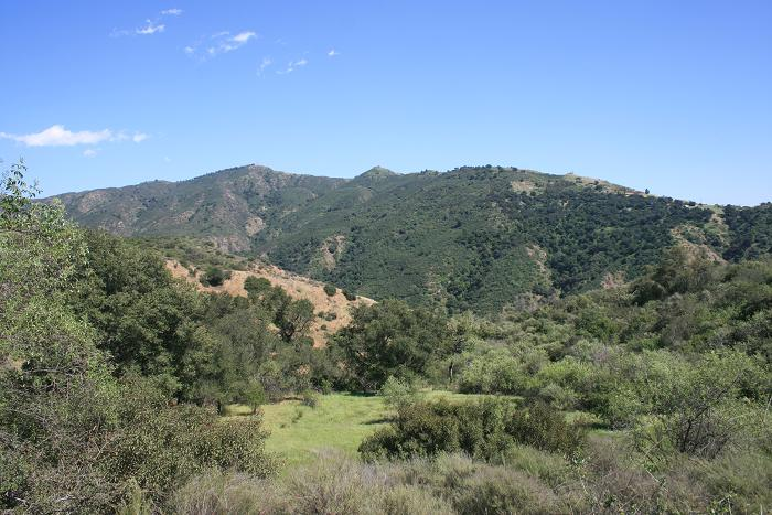 View from the Upper Mystic Canyon Trail