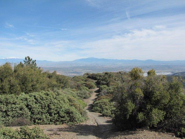 San Gorgonio from Los Pinos Peak