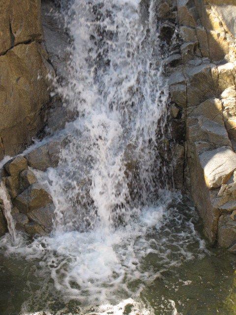 Base of Ortega Falls