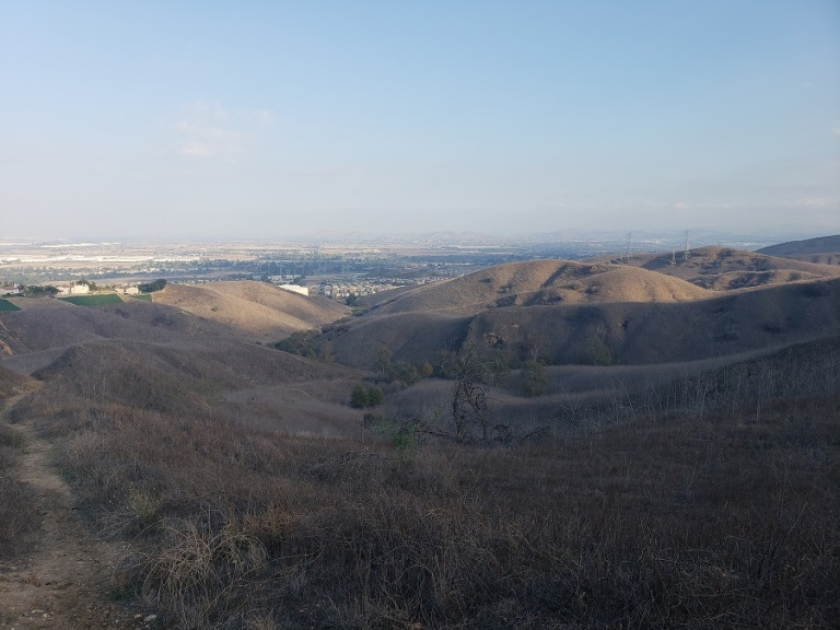 Fenceline Trail, Chino Hills State Park