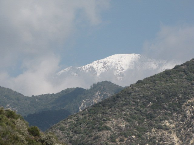 Mt. Baldy from the Road to Nowhere