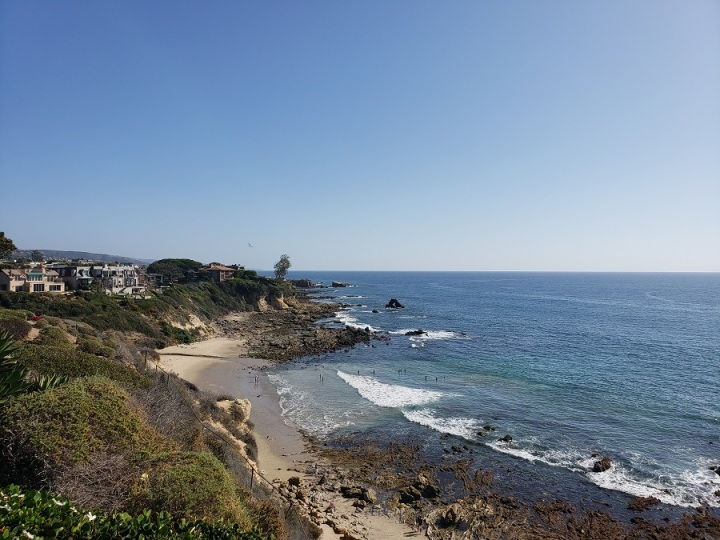 Little Corona del Mar Beach, Orange County, CA