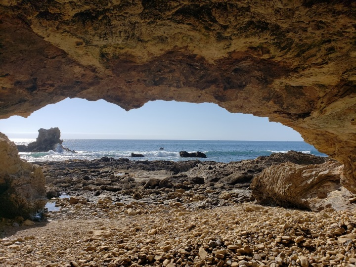 Sea cave, Corona del Mar, CA