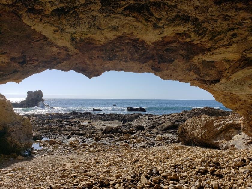 Sea cave, Corona del Mar, CA