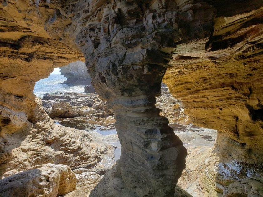 Sea caves, Corona Del Mar, CA