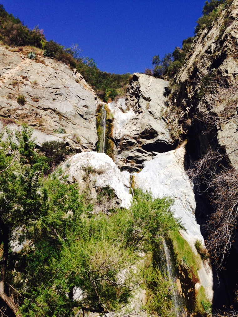 Fish Canyon Falls, Angeles National Forest, CA