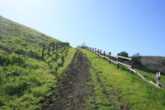 The short but steep La Mancha Trail