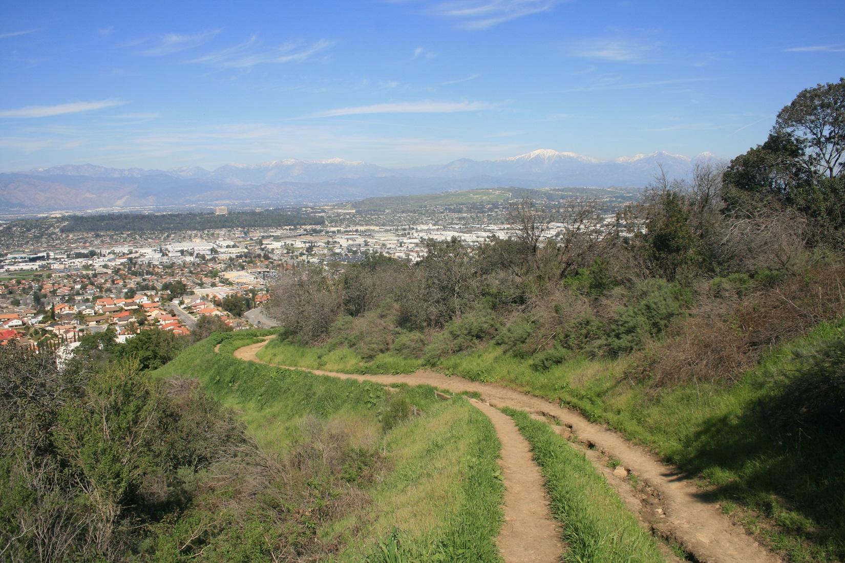 Schabarum Trail, Los Angeles County, CA