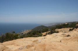Ocean view from Badlands Park