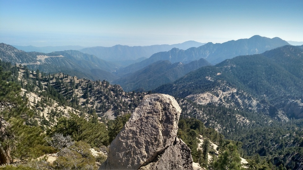 View from Mt. Williamson, Angeles National Forest