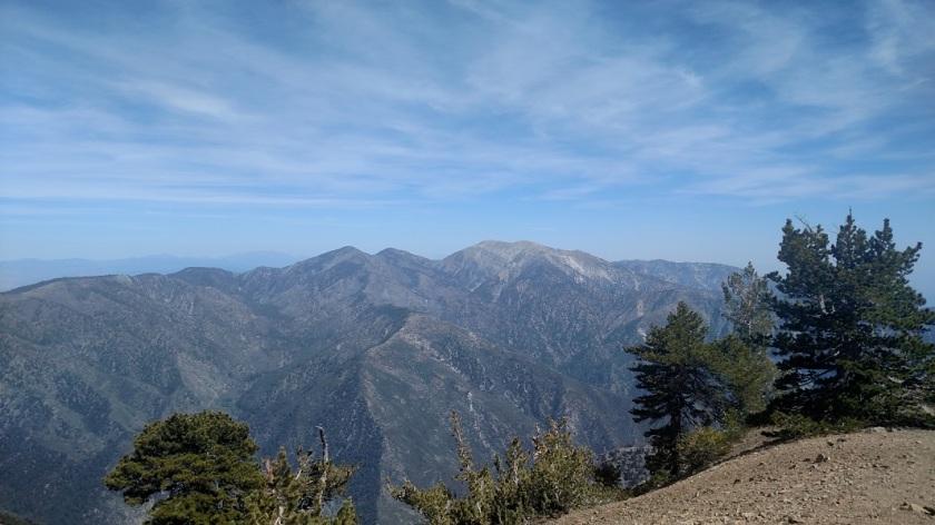 Mt. Baden-Powell summit, Angeles National Forest