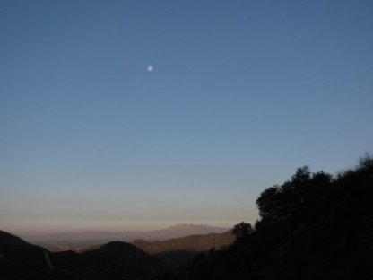 Dawn on the La Tuna Canyon Trail