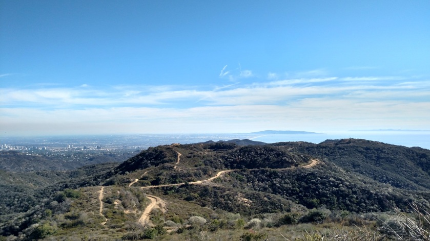 View from Temescal Peak, CA