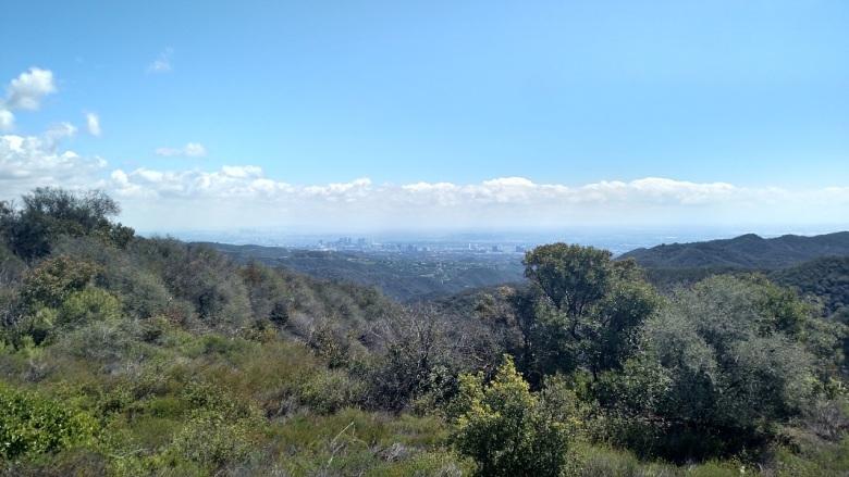 Temescal Ridge Fire Road, Topanga, CA